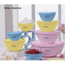 Tupperware Bea Tigela Maravilhosa Colorido Kit 8 Peças