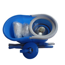 Spin Mop 360 Inox ( Balde+esfregão+2refil)