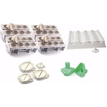 Kit Formas Modeladora Fábrica De Coxinhas - Faz 52 Coxinhas