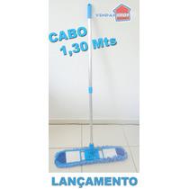 Vassoura Microfibra 60 Cm Tira Pó Maior A Seco Rodo Magico