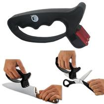 Afiador Amolador Manual De Facas Tesouras Canivete Facões