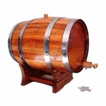 Barril |tonel De Caçhaca|vinho|cerveja| Wisque|carvalho 5 L