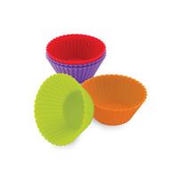 Kit 24 Formas Silicone Mini Bolo Cupcake Muffin