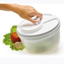 Centrífuga De Salada Legumes Pequeno Manual Plick
