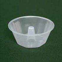 Forma Plastica Mini Pudim C/tampa 140ml Plastilania C/100un