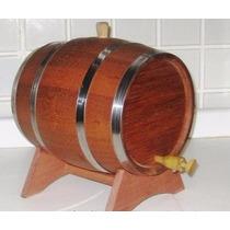 Barril |tonel De Caçhaca|vinho|cerveja| Wisque|carvalho 5l