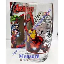 Copo De Vidro Homem De Ferro Nadir Marvel Avengers 430 Ml
