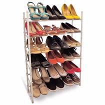 Sapateira Para Até 18 Pares De Sapato- Organizador Closet