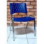 Cadeira Iso Kit 4 Unid Restaurante Bar Lanchonete Cromada