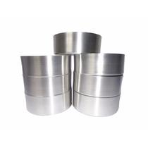 Forminhas Em Alumínio Para Pão De Mel N°5 - Kit C/ 16 Peças
