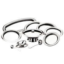 Conjunto Aço Inox Servir Jantares 10 Pçs Rotonda Tramontina