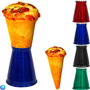 10 Pçs Suporte Luxo Pizza Cone - Aluminio Pintado Gastrobel