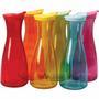 Garrafa De Vidro Colorida - Para Água Suco