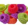 Kit C/ 36 Formas Silicone Mini Bolo Cupcake Pudim E Gelatina