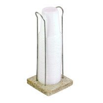 Porta Copo Dispenser De Mesa Em Granito Para Copos 180/200ml