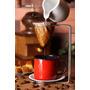 Mini Coador Café +coador De Pano+ Caneca Esmaltada De Agáta