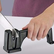 Afiador Amolador De Facas Tesoura Canivete Facão Cerâmica