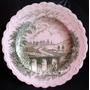 Prato Porcelana Inglesa Antigo 25 Cm Diâmetro