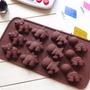 Molde Forma Silicone Chocolate Pasta Americana Dinossauro