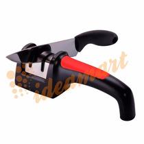 Amolador Afiador De Facas Diamantado Cor Vermelho B1- D21