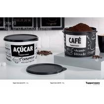 Lançamento Tupperware Caixa Café + Açucar Da Linha Pb