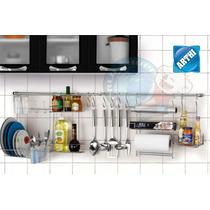 Organizador De Cozinha Cook Home 1 C/ Porta Rolos Temperos