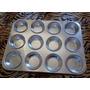 Forma Para Cupcake 12 Cavidades Em Alumínio