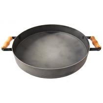 Chapa Bifeteira De Ferro - Disco De Arado Com Bordas 45 Cm