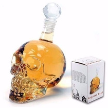 Garrafa Caveira Crystal Head 550ml Whisky Cerveja Vodka