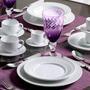 Jogo De Jantar Roma Branco - 30 Peças - Em Cerâmica