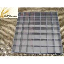 Forma Para Pão De Mel Quadrado 49 Cavidades Em Alumínio