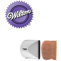 Bico Confeitar Extra Grande Serra Inox 789 - Wilton
