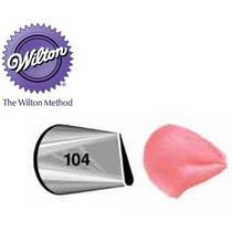 Bico Para Confeitar Inox Pequeno - 104 Petala Wilton
