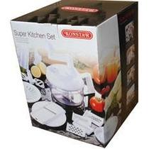 Cortador De Frutas/legumes Super Kitchen Set-haifa Chef Pan