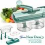 Nicer Dicer Fusion Picador Alimentos Salada Tempero Legumes