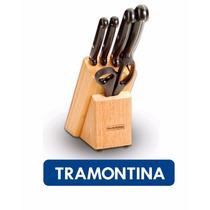 Conjunto De Facas Inox 5 Peças Ultracorte Tramontina
