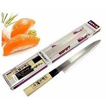 Faca Sashimi Sushi Japonesa Importada Made In Japan Japonês