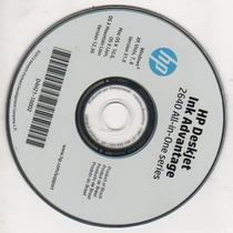 Cd Instalação Impressora Hp Deskjet 2646/ 2640 Novo