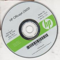 Cd De Instalação Para Impressora Hp Officejet J3680 - J3608