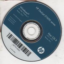 Cd De Instalação P/ Impressora Hp Deskjet D1660