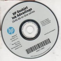 Cd De Instalação P/ Impressora Hp Deskjet 2640 - 2646