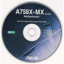 Cd Instalação A7s8x-mx - Drivers Da Placa Mãe E Softwares