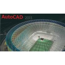 Autocad 2013 32 E 64 Bits Inglês