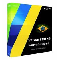 Sony Vegas 13 Pt Br-curso Video Aula-português-frete Grátis!