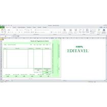 Panilha Excel Modelo Holerite-contra-cheque 100% Editável
