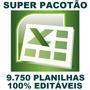 Planilhas Em Excel 100% Editáveis Frete Grátis - Download