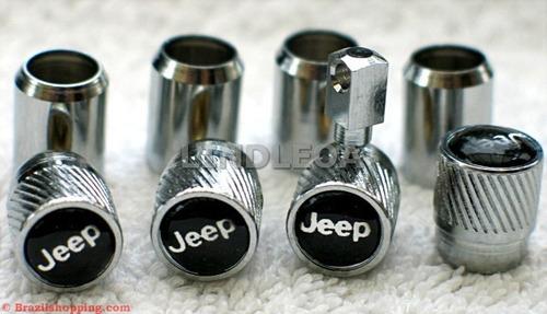 Valvulas De Ar Antifurto P/ Jeep Willys Cherokee Willis Jipe