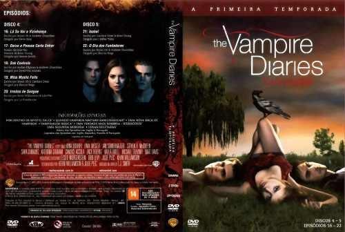 Vampire Diaries 1ª Temporada Lacrada Original Novo
