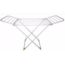 Varal De Chão Aluminio Com Abas Gibafer - Marcca Ferragens