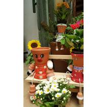 Boneco De Vaso Jardim N°1